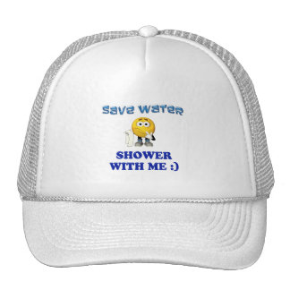Save Water Shower With Me Hats