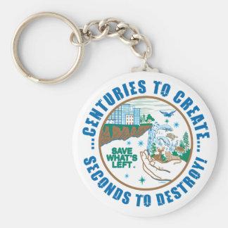 Save What's Left...Key chain Basic Round Button Keychain