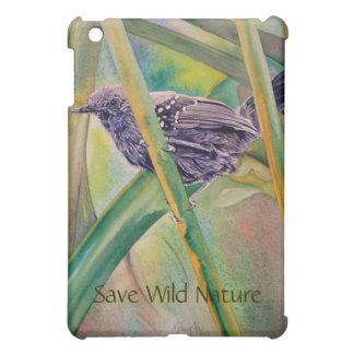 Save Wild Nature - Marsh Antwren iPad Mini Cases