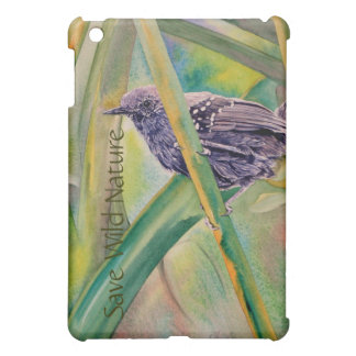 Save Wild Nature - Marsh Antwren iPad Mini Covers