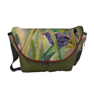Save Wild Nature - Marsh Antwren Messenger Bag