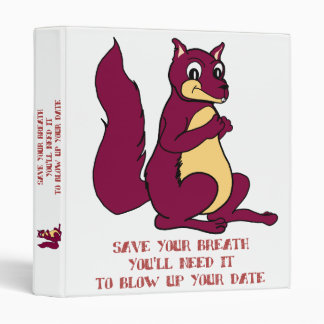 Save your breath 3 ring binder