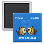 save your bubbles refrigerator magnet