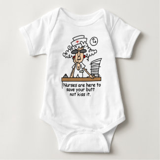Save your butt! baby bodysuit