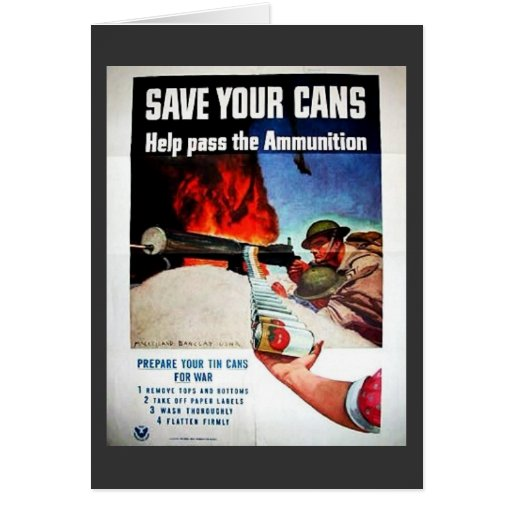 Save Your Cans Cards