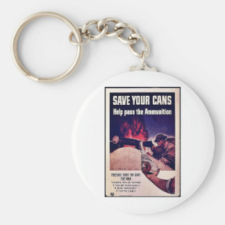 Save Your Cans Key Chains
