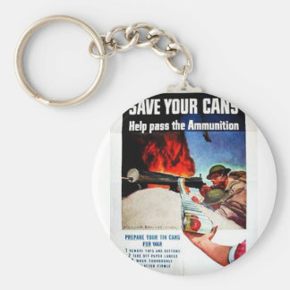 Save Your Cans Keychain