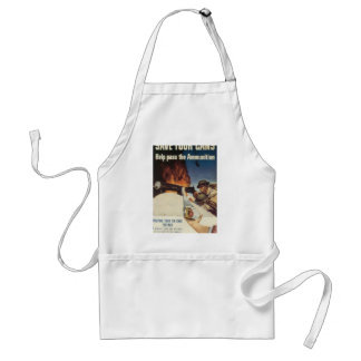Save Your Cans World War 2 Adult Apron