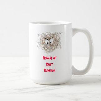 Save Your Data! Beware of Dust Bunnies! Coffee Mug