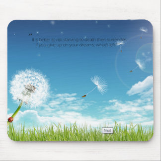 Save your dreams mouse pad