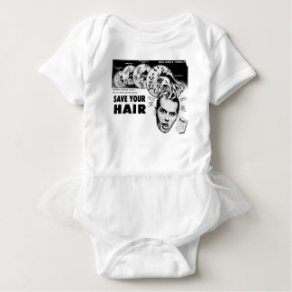 Save Your Hair! Baby Bodysuit