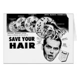 Save Your Hair! Card