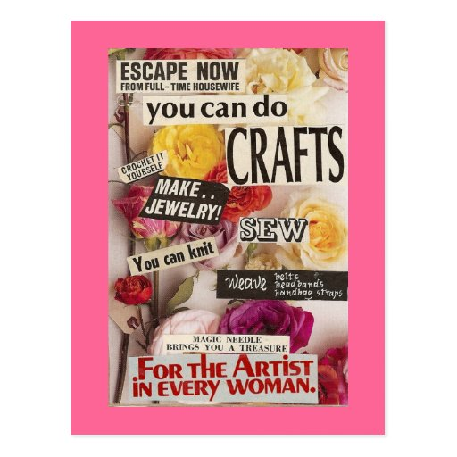 Save Your Sanity With Crafts Post Cards