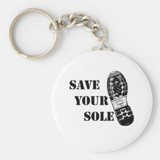 Save your sole keychain