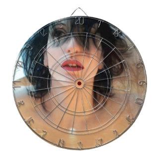Save Yourself - Self Portrait Dartboard