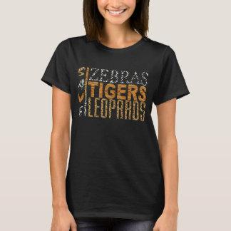 Save Zebras, Tigers, Leopards Graphic T-Shirt