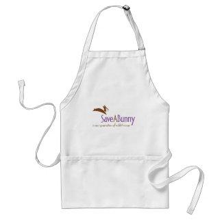SaveABunny Logo Aprons