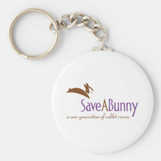 SaveABunny Logo Key Chain