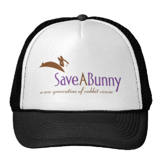 SaveABunny Logo Trucker Hat