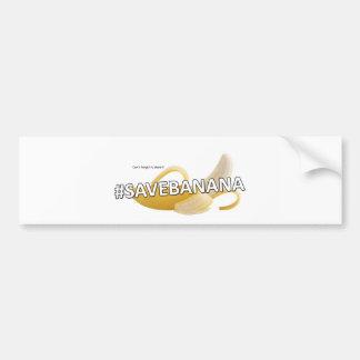 SaveBanana Bumper Sticker