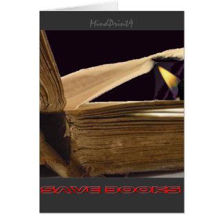 SaveBooks 2 Tarjeta De Felicitación
