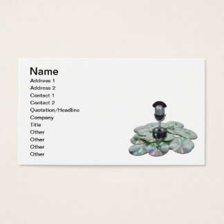Saved Broadcasts Business Card