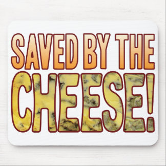 Saved By Blue Cheese Mouse Pad