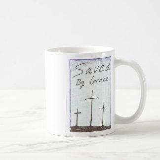 SAved by Grace cross mug