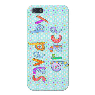 Saved By Grace Cute Christian Artsy Polkadots Cover For iPhone SE/5/5s
