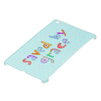 Saved By Grace Cute Christian Artsy Polkadots Cover For The iPad Mini