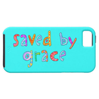 Saved By Grace Fun and Funky Christian iPhone 5 Cases