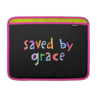 Saved By Grace Fun and Funky Christian Sleeves For MacBook Air