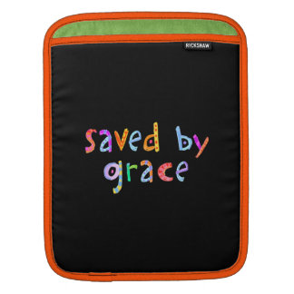 Saved By Grace Fun and Funky Christian iPad Sleeves