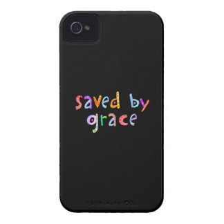 Saved By Grace Fun and Funky Christian iPhone 4 Cover