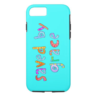 Saved By Grace Fun and Funky Christian iPhone 8/7 Case