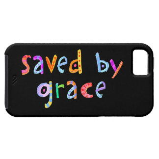 Saved By Grace Fun and Funky Christian iPhone SE/5/5s Case