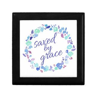 Saved By Grace Keepsake Box