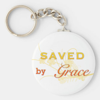 Saved By Grace Key Chain