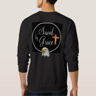 Saved By Grace - Men's Raglan Sweatshirt