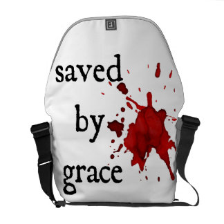 Saved by Grace Messenger Bag