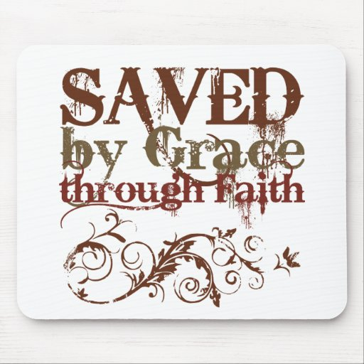 Saved by Grace Mouse Mats