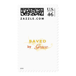 Saved By Grace Postage Stamp