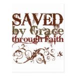 Saved by Grace Postcards