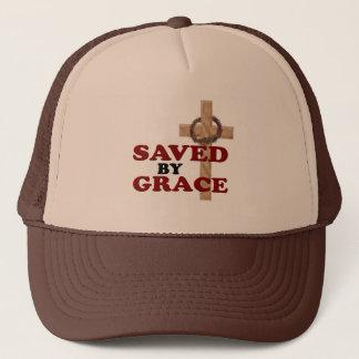 SAVED BY GRACE TRUCKER HAT