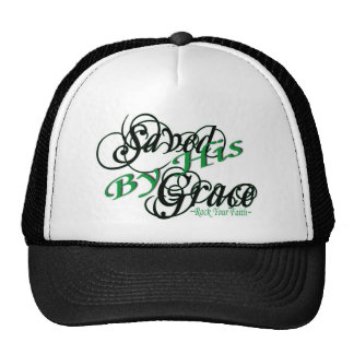 Saved by His Grace! Trucker Hat