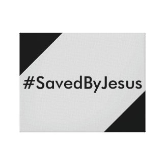 saved by Jesus Canvas Prints