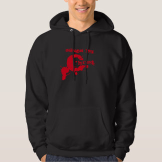 Saved By The Blood of Christ 1 John 1:7 Hoodie
