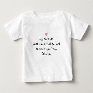 Saved from Obama! Baby T-Shirt