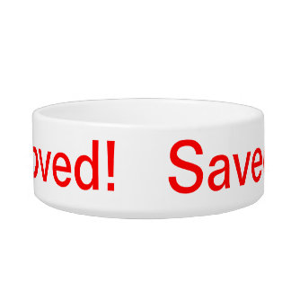 Saved Cat Bowl
