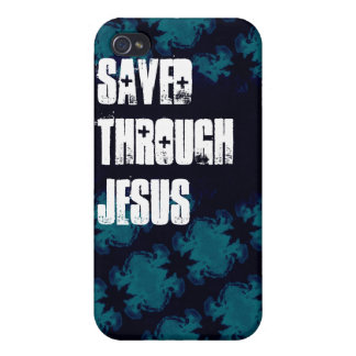 Saved Through Jesus iPhone 4 Case for Teens